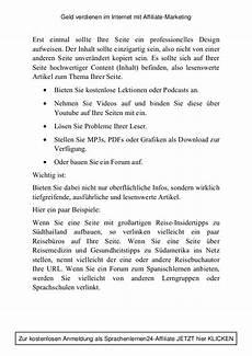 handbuch quot geld verdienen im mit affiliate