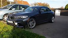 bmw m2 winter wheels first shots of bmw m2 in mineral grey wearing terrible winter wheels
