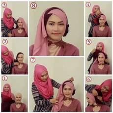 New Tutorial Jilbab Yang Cocok Untuk Kebaya