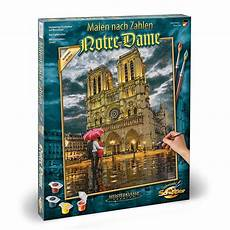 premium paint by numbers the cathedral notre dame de craftyarts co uk