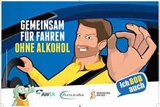Alkohol Am Steuer 2016 - bob kagne 2016 weniger alkohol am steuer