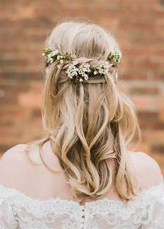 Brautfrisuren Mit Schleier Halboffen - waxflower das neue schleierkraut style frisur