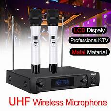 270mhz Wireless Microphone System Receiver Dual by Other Audio Visual Accessories Uhf 220 270mhz Wireless