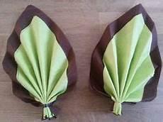 a l ombre du palmier bricolage pliage serviette