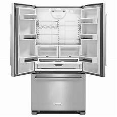 Kitchenaid Counter Depth Refrigerator by Kitchenaid Krfc302ess 22 Cu Ft Counter Depth Door