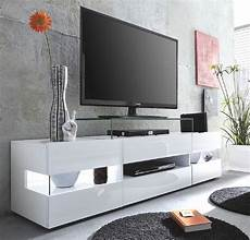 Wohnzimmer Tv Lowboard Quot Sonic Quot Glanz Wei 223