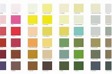 fancy painting your wall in pecked carcass a paint colour chart inspired by the