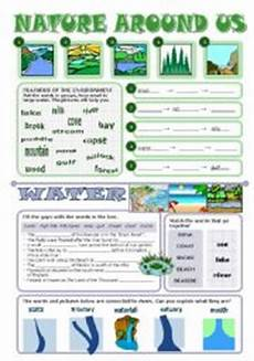 nature protection worksheets 15140 nature around us esl worksheet by tecus