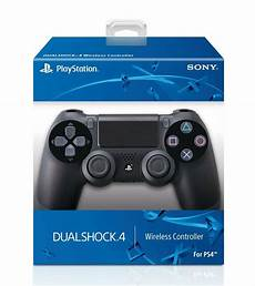 official dualshock ps4 wireless controller for playstation 4 jet black new 711719100379 ebay