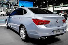 2016 buick verano debuts in chinese market form in shanghai