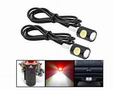 eclairage de plaque moto 1 paire lumineux moto g 233 n 233 rale led vis le refires moto