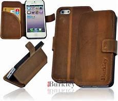 apple iphone 5 premium leder book flip tasche wallet