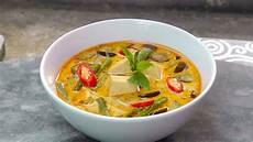 Rotes Thai Curry Vegan Vegetarisches Rezept