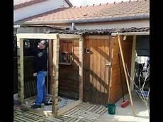 Construction D Une Cabane De Jardin Et Agrandissement De