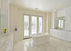 Traditional All White Bathroom Ideas by Traditional White Bathroom Is Spacious Airy Hgtv