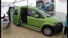 vw caddy maxi 4 motion cer green colour