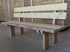 banc bois massif plans pour fabrication d un banc en bois massif
