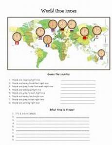 time difference worksheets 2972 world time zones esl worksheet by pyata4ok
