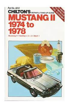 1974 78 ford mustang ii haynes repair manual 1amnl00187 at 1a auto com 1974 1978 ford mustang ii hardtop 2 2 mach 1 chilton s repair tune up guide