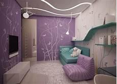 Jugendzimmer Farben Beispiele - wandgestaltung jugendzimmer m 228 dchen lila wandfarbe
