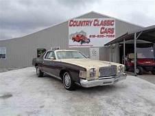 Classic Chrysler Cordoba For Sale On ClassicCarscom