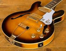 epiphone casino coupe review epiphone casino coupe vintage sunburst guitars