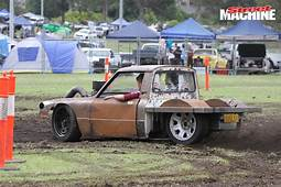 VIDEO WILD LITTLE MAZDA UTE BUILT BY 16 YEAR OLD