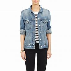 j brand denim darci jacket in blue lyst