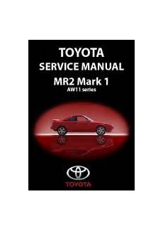 manual repair free 1986 toyota mr2 security system toyota mr2 mark 1 1984 89 service workshop repair manual