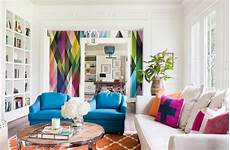 a stunning apartment with colorful geometric 23 stunning living rooms with geometric wallpapers home