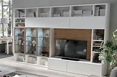 librerie mobili moderni libreria a035 moderna con vetrine illuminate casa store