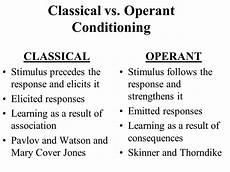 classical operant operant classical conditioning 2019 01 27