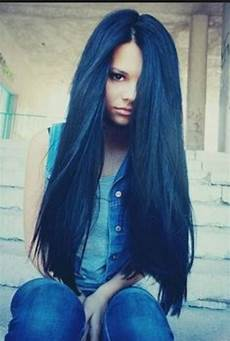 dark midnight blue hair midnight blue hair gorgeous hair pinterest