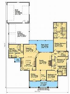 cajun house plans southern acadian house plan with secluded master suite