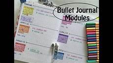 Bullet Journal Modules