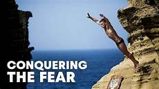 conquering the fear of cliff diving bull cliff diving world series 2014 youtube