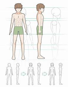 Cara Menggambar Sketsa Karakter Anime Laki Laki Anidraw