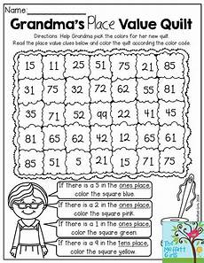grandma s place value quilt help grandma pick the colors for her quilt according to place value
