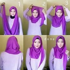 Inspirasi 53 Model Jilbab Yang Cocok Untuk Wajah Oval
