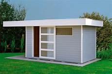 abri jardin moderne abri de jardin toit plat au design contemporain import