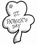 St Patricks Day Coloring Page & Book For Kids
