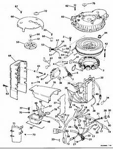 1995 johnson outboard wiring diagram johnson ignition system parts for 1995 150hp j150gleom outboard motor