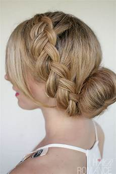 braids and buns hairstyles for brides and