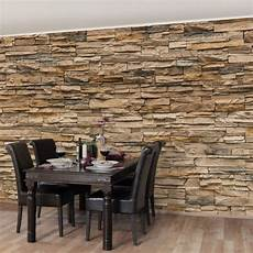 steinwand tapete wohnzimmer steintapete andalusia stonewall vlies fototapete breit