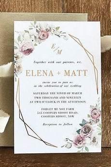 Wedding Invitation Evite