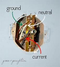 how to replace a light fixture grace gumption