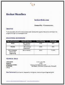 25 objective for resume for freshers in 2020 student resume student resume template best