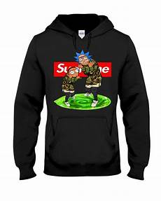 supreme shop official rick and morty supreme hoodie sweater shirt