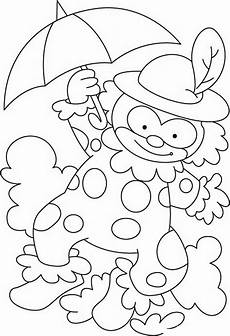 clown coloring pages for kids coloring worksheets 3