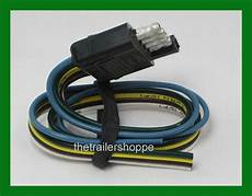 trailer end light wiring harness bonded flat 5 way pole connector ebay